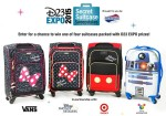 2015 D23 Expo Secret Suitcase Sweepstakes