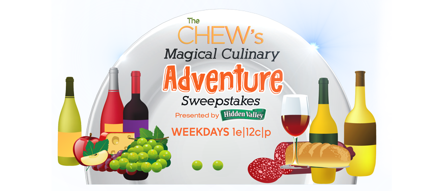 Chew's Magical Culinary Adventure Sweepstakes